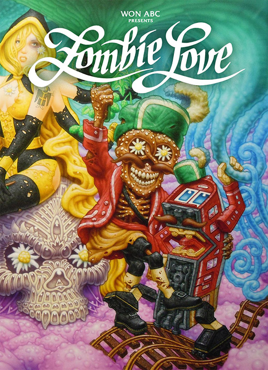 Book-cover-550 in Won ABC - Zombie Love: